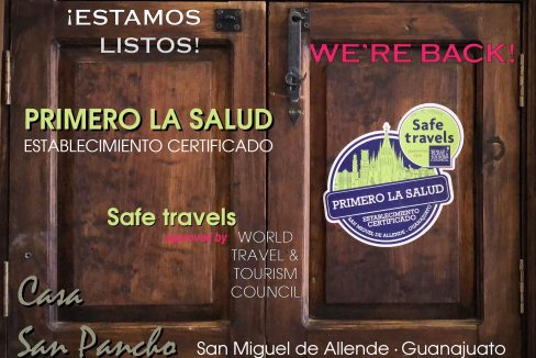Ven a San Miguel, blog, san pancho, we're back!